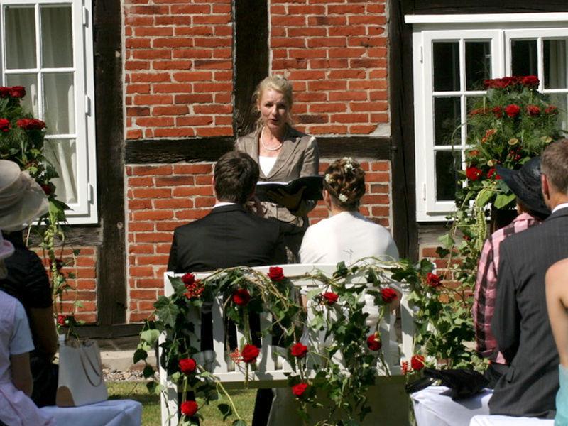 Beispiel: Hochzeitsrede, Foto: Andrea Junk-Schnoor.