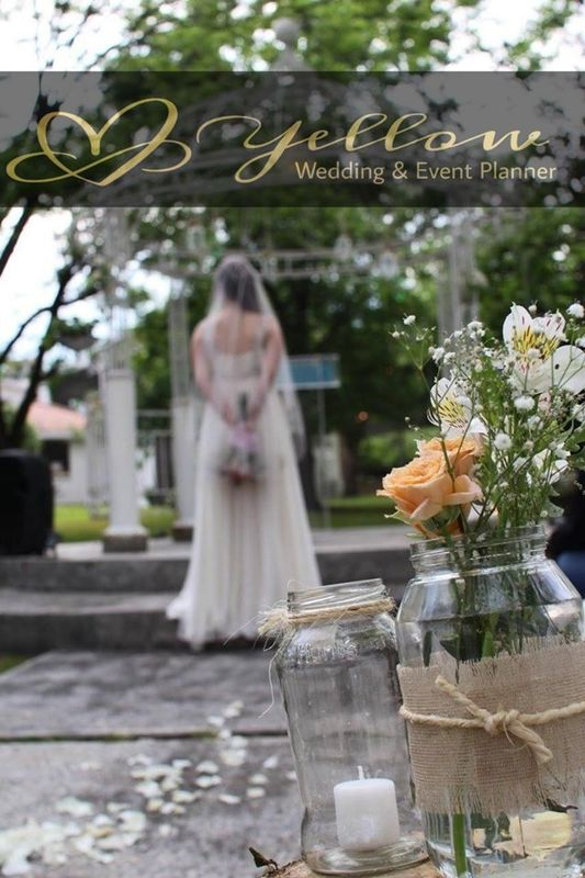 Yellow Wedding & Event Planner