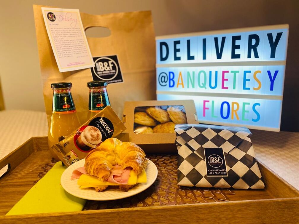 Banquetes & flores Delivery