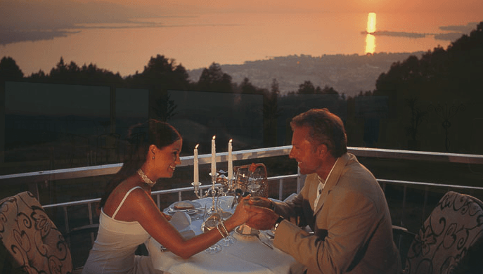 Beispiel: Terrasse, Foto: Hotel Schönblick.