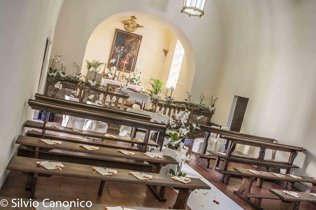 Uno scorcio della Chiesa da 120 posti