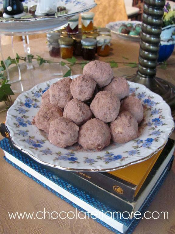 galletas de chocolate y avellana