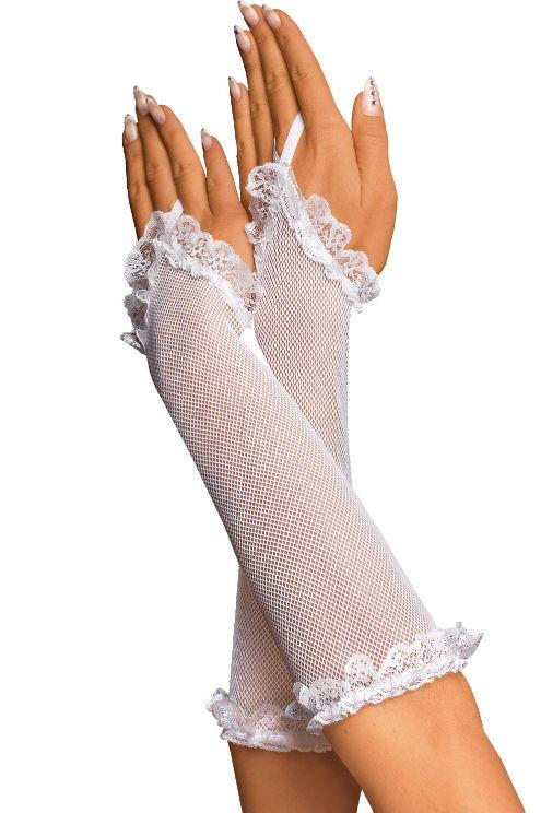 Beispiel: Handschuhe aus Netzstoff, Foto: Beate Uhse.