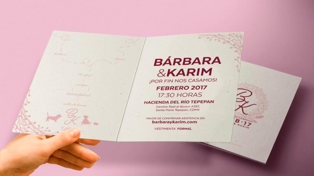 Este 2017 es un buen año para celebrar el amor. ¿Ya saben cómo les gustaría las invitaciones de boda para el mejor día de los dos? Envíanos un mensaje ❤️