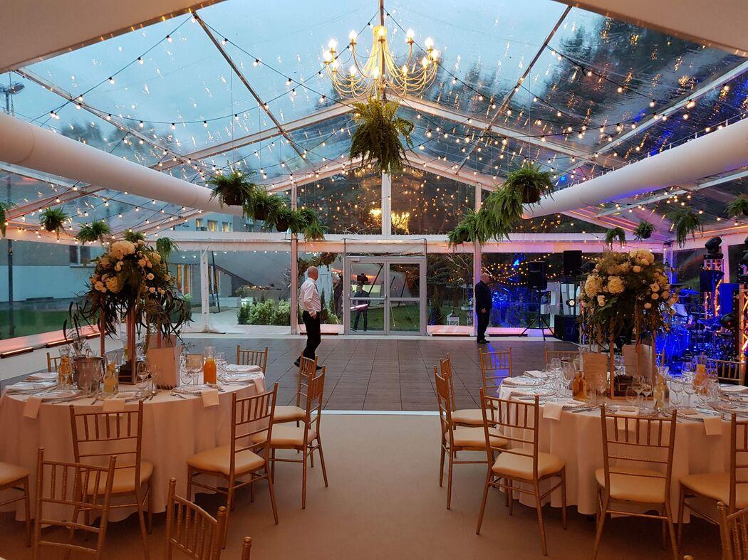 EWENTA - wynajem hal namiotowych na wesele w plenerze