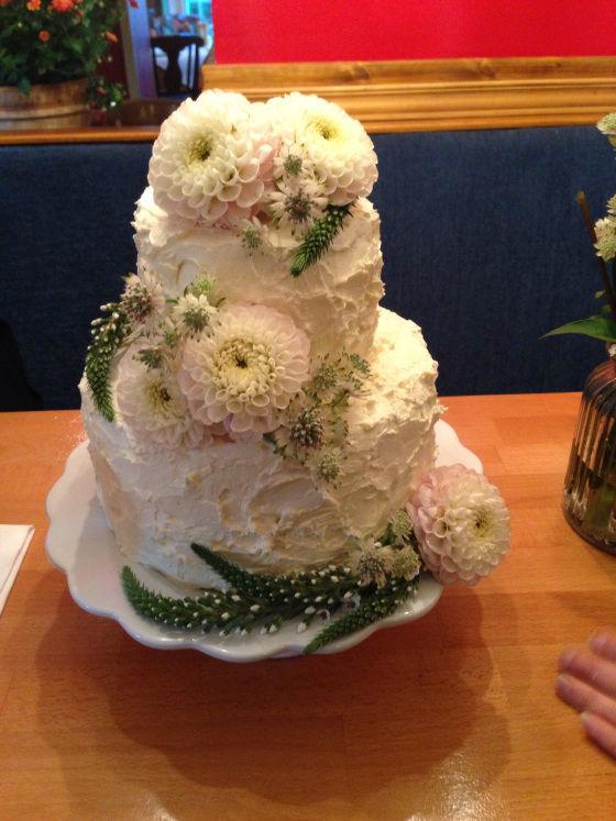 Beispiel: Hochzeitstorte, Foto: Mistress Cake.