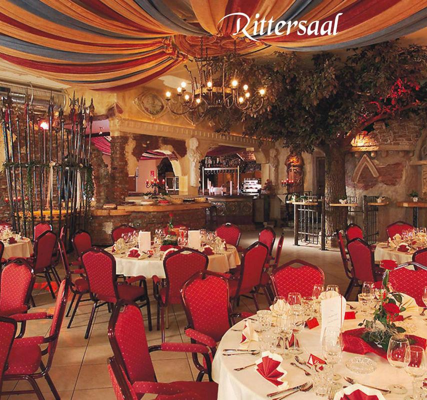Beispiel: Rittersaal, Foto: Burg Spielberg.