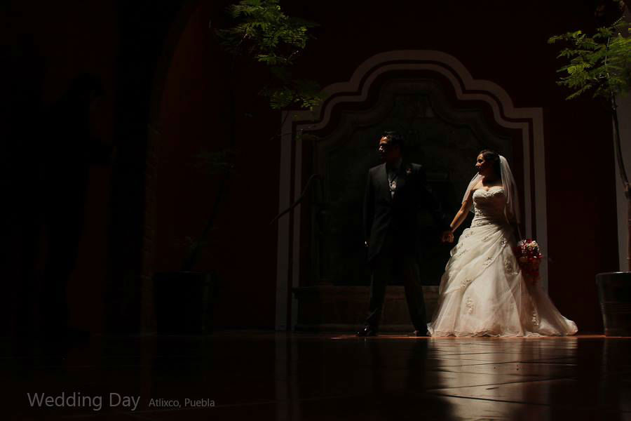 wedding session