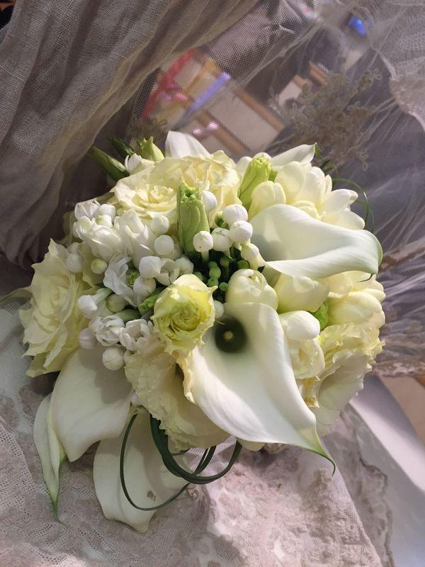 bouquet sposa classico romantico