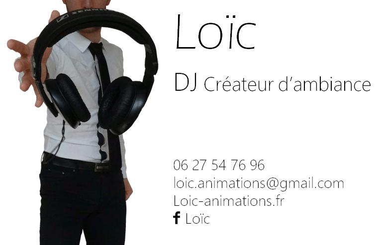 Loïc DJ Créateur d'ambiance