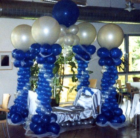 Beispiel: Ballondekoration, Foto: Bombastisch.