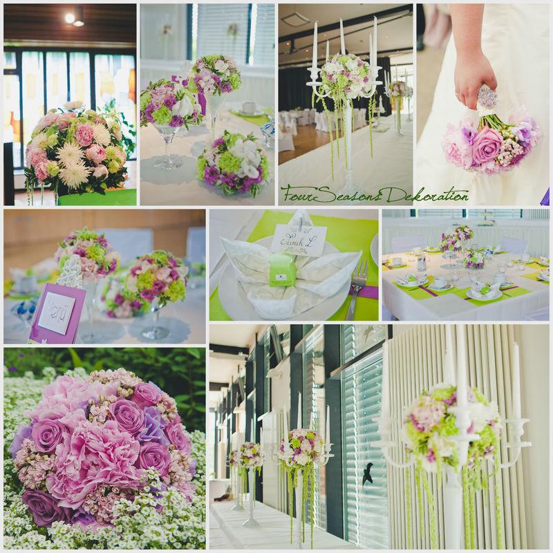 Sie sind individuell! --- Ihre Dekoration sollte es auch sein.  Wir legen viel Wert auf neue Kreationen und mutige Mischungen von Farben und Blumen.