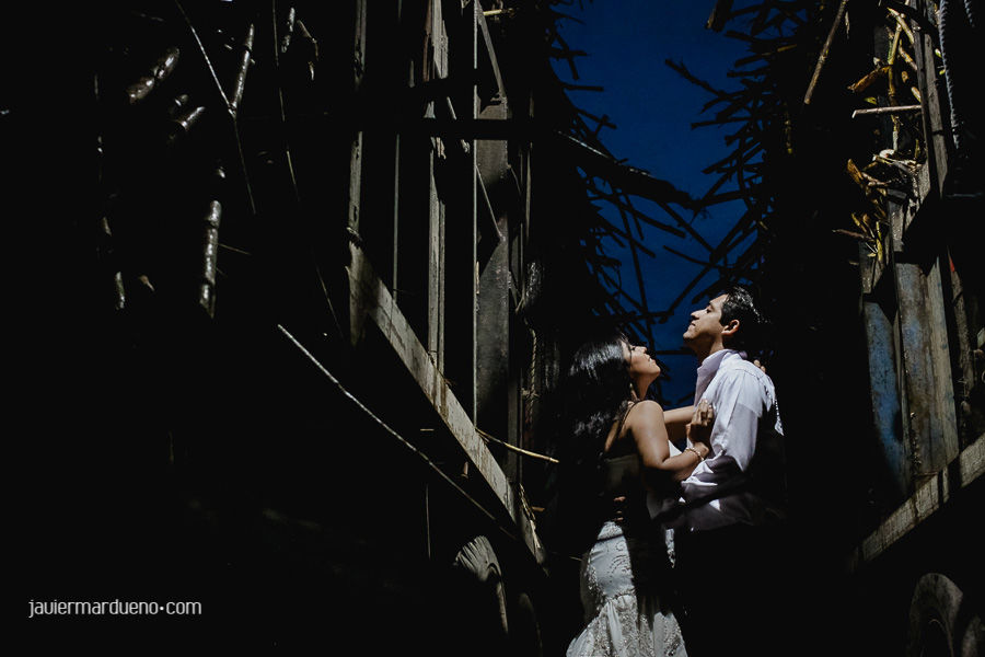 Trash the dress en Autlan