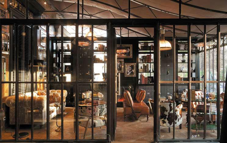 Restaurant L'Ile- fumoir
