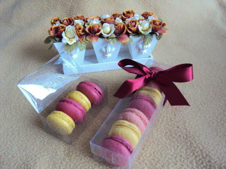 LG Bem Casados e Macarons