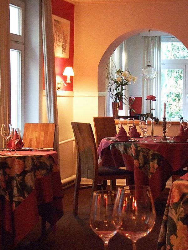 Beispiel: Restaurant, Foto: Restaurant Alsterpark.