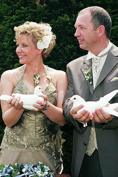 Beispiel: Hochzeitstauben, Foto: Hochzeitstauben Berlin-Brandenburg.
