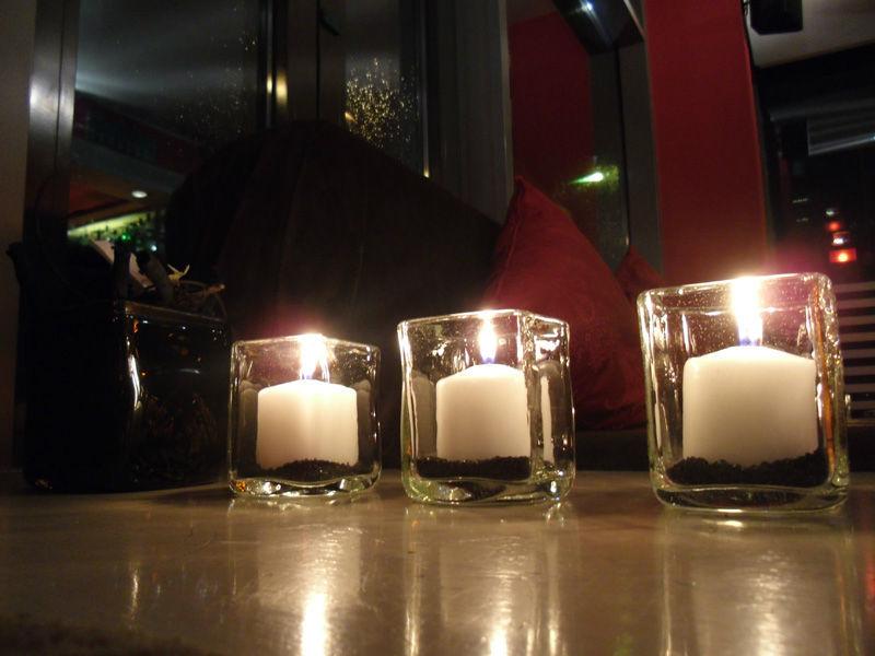 Beispiel: Kerzen, Foto: turmBAR.