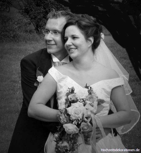 Beispiel:Brautstrauß, Foto: Hochzeitsdekorationen.de