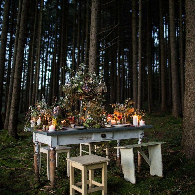 Welt der Rosalie Hochzeitsdekoration