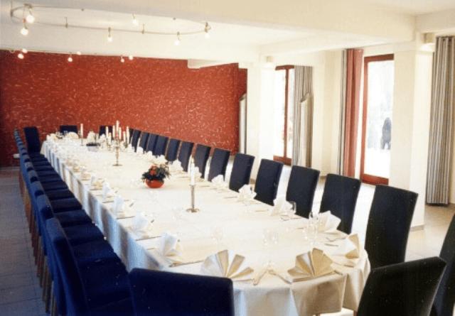 Beispiel: Hotelsaal, Foto: Landhotel Rittmeister.