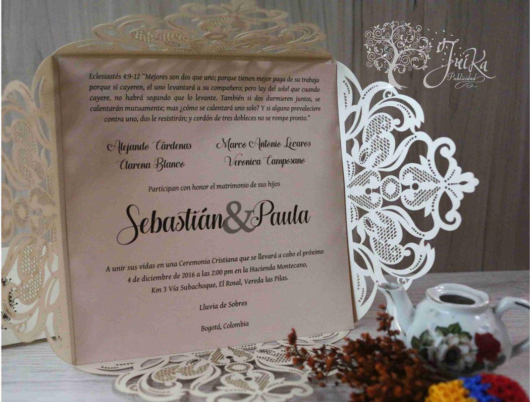 Juika invitaciones y recordatorios