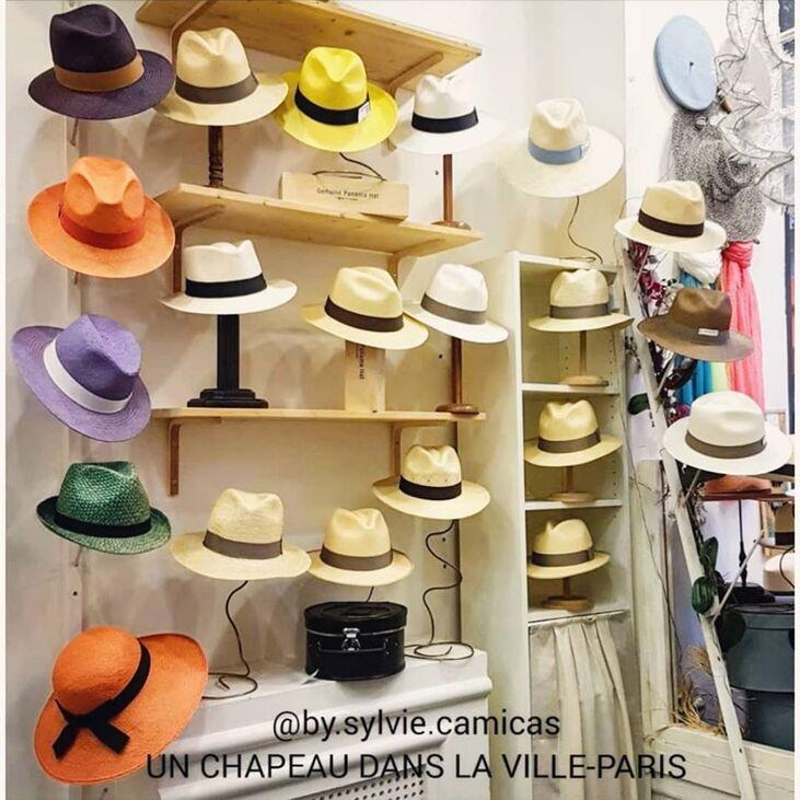 Un Chapeau Dans La Ville Paris
