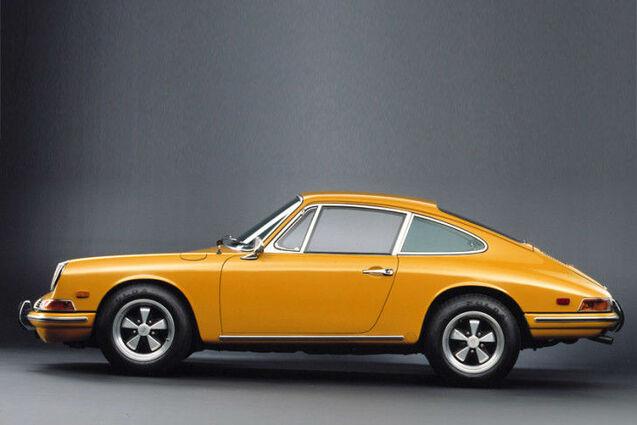 Beispiel: Porsche Coupe, Foto: Hamburger Oldtimer Verleih.