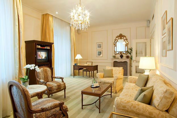Beispiel: Suite, Foto: Nassauer Hof.