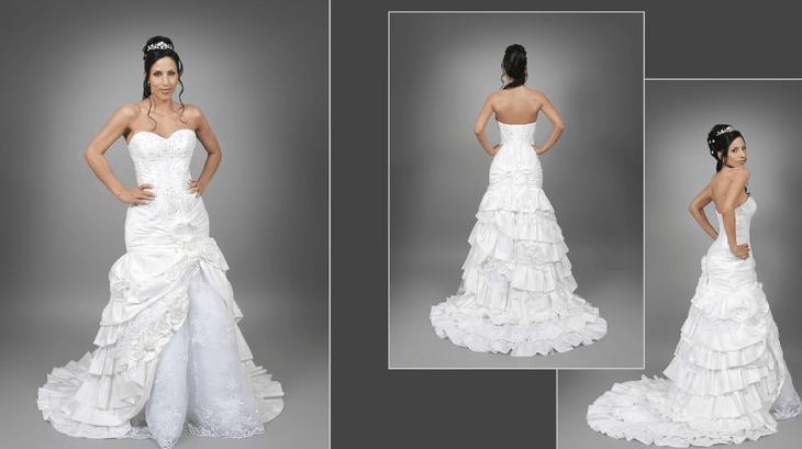 Beispiel: Brautmode für die Braut mit Stil, Foto: s'Bruthüsli.