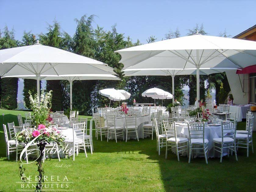 Banquetes para bodas - Foto Cedrela