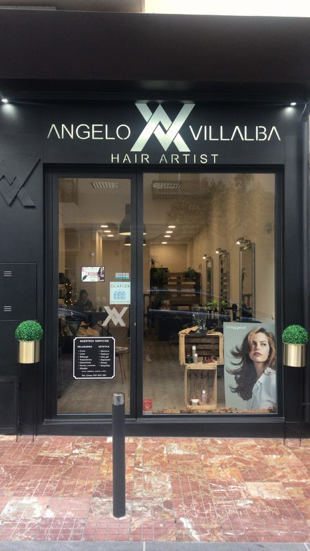Angelo Villalba hair artist