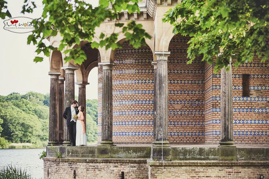 Hochzeitsreportage Potsdam, Hochzeitsreportage Heilandskirche Sacrow, Brautpaar Heilandskirche Sacrow