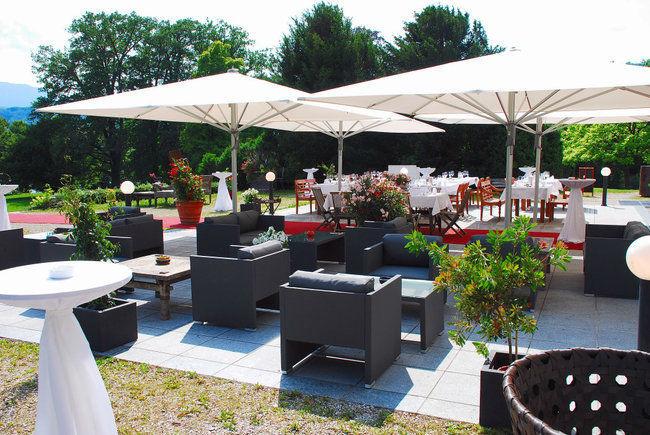 Beispiel: Terrasse, Foto: Villa Toscana.