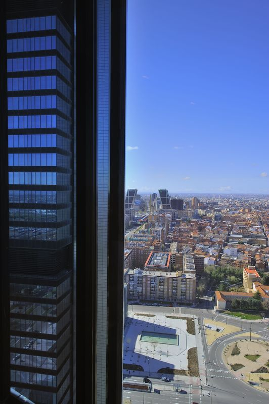 Fachada Eurostars Madrid Tower