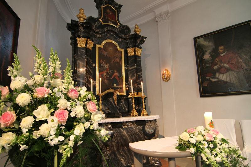 Beispiel: Kapelle, Foto: Schloss Heidegg.