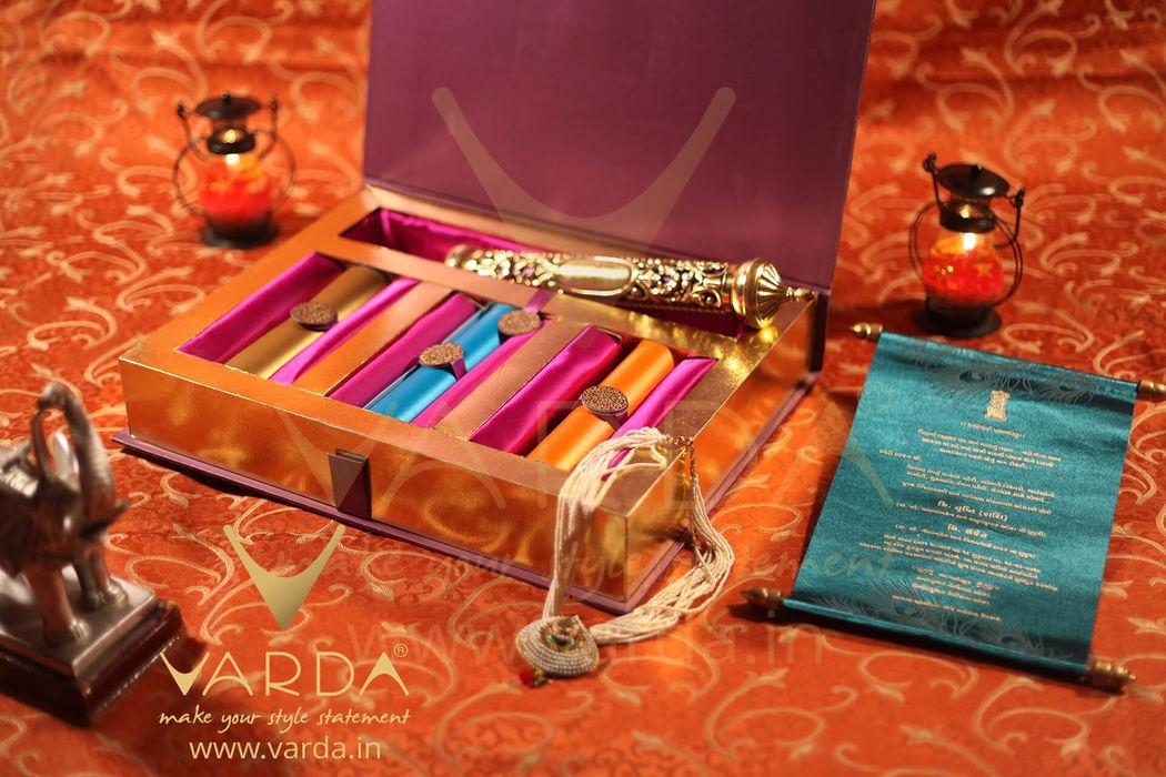 Varda Designer Invitations