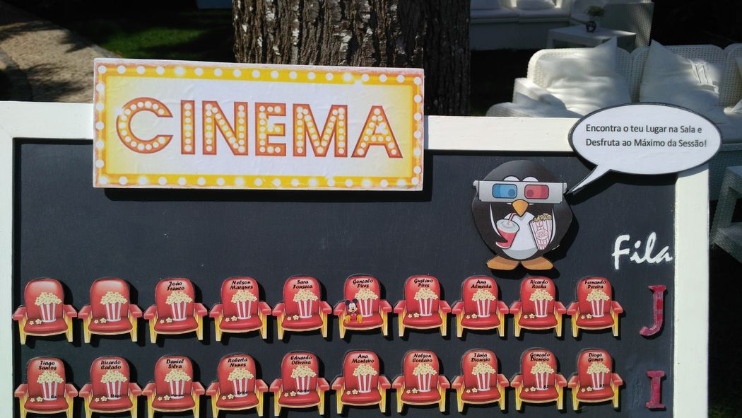 PPanimações - Tema Cinema