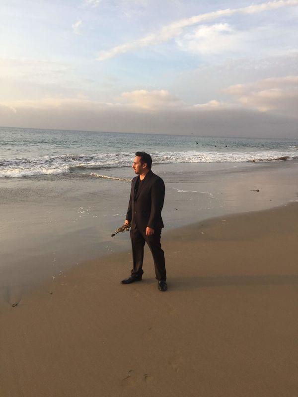 Saxofonista Alejandro Guardia