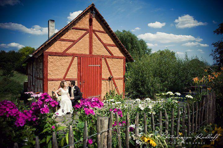 Beispiel: Wunderschöne Farb- und Lichteffekte für Ihre Hochzeitsfotos, Foto: Photodesign Radloff.