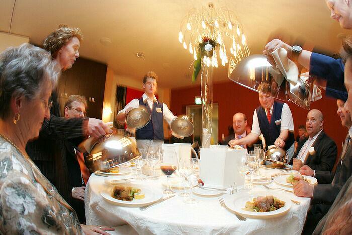 Beispiel: Ihr Hochzeitsmenü, Foto: Dämeritz Seehotel.