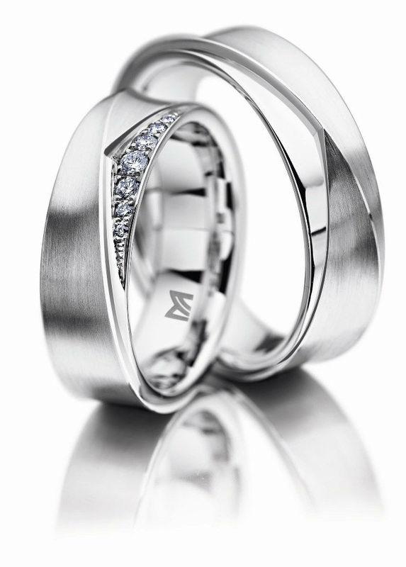 Beispiel: Trauringe von Markenherstellern, Foto: Juwelier Dallinger.