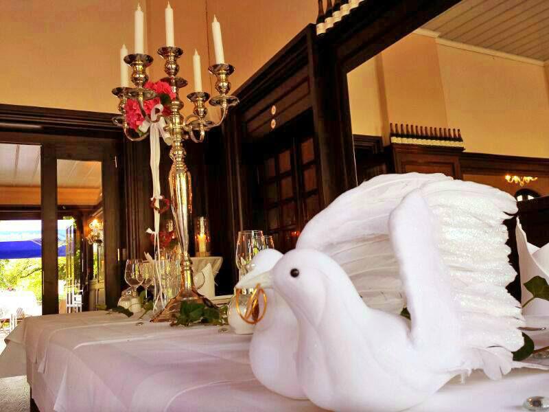 Beispiel: Dekoration, Foto: Schloss Glienicke.