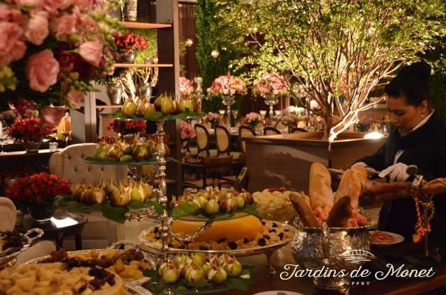 Buffet Jardins de Monet