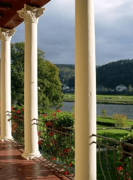 Blick auf die Elbe, Foto: Parkhotel Bad Schandau