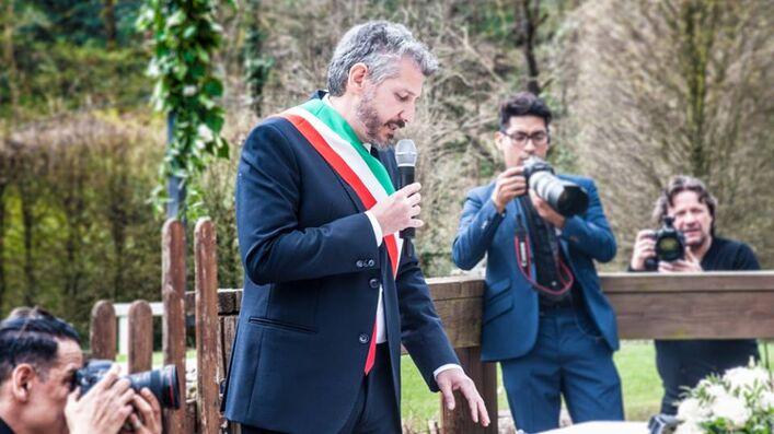 Celebrante Fabio Gerbi