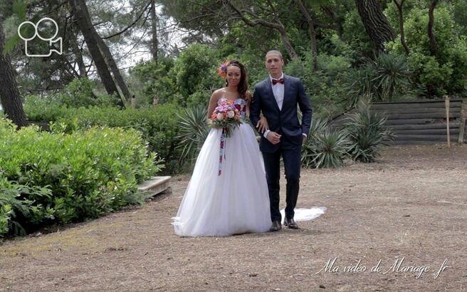 Ma vidéo de mariage