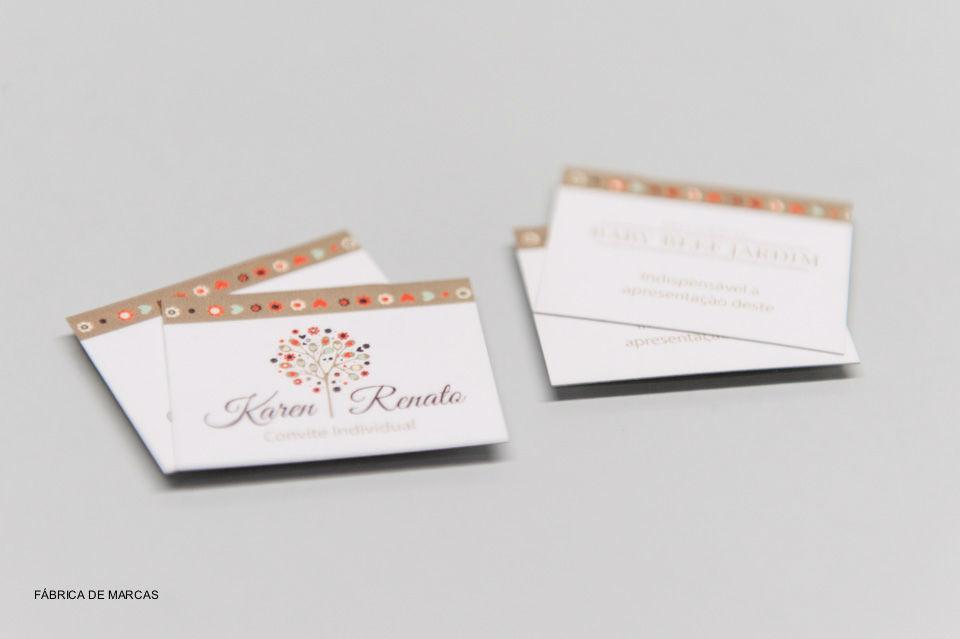 Projeto Karen e Renato - Convite Individual