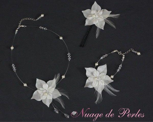 Des parures complètes de bijoux pour la mariée