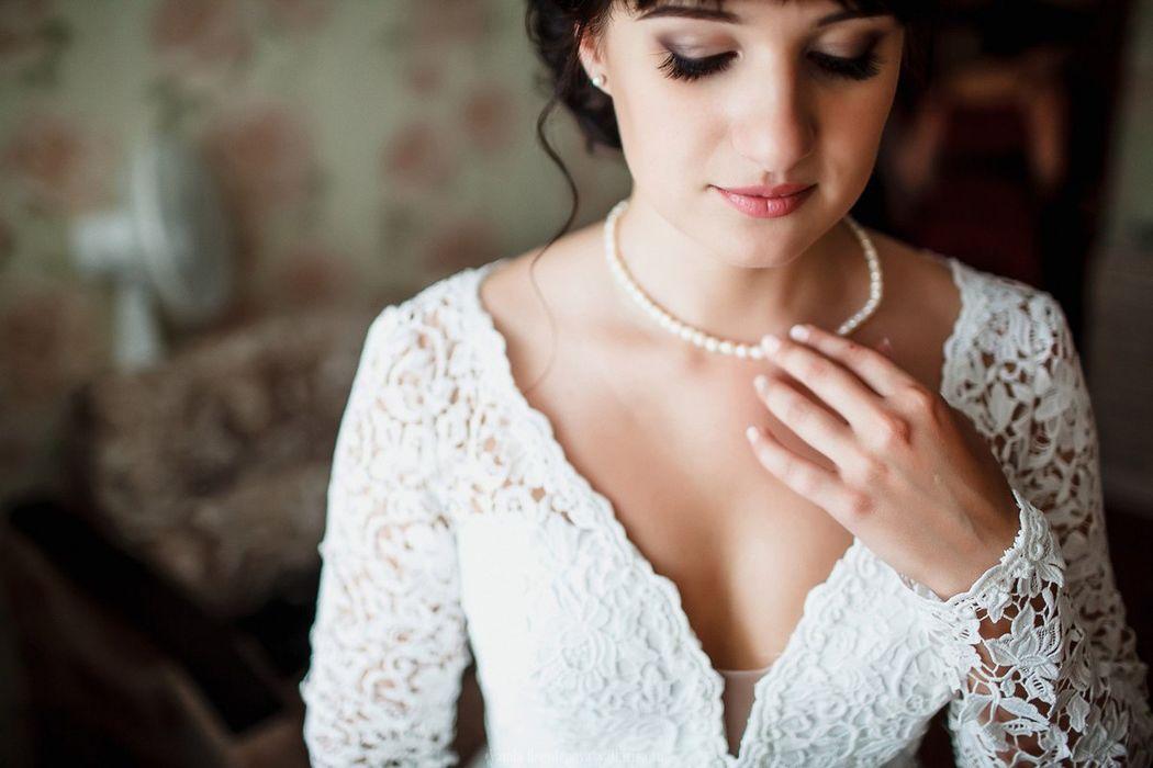 макияж и причёска для невесты Ирины фотограф Ванда Боголепова